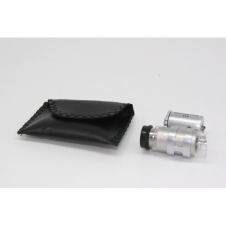 Microscope de poche avec grossissement x45, parfait pour observer vos colonies ou d'autres insectes in-natura
