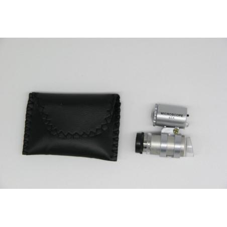Microscope de poche avec lumière LED, parfait pour observer vos colonies ou d'autres insectes in-natura